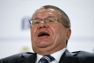 Russian Economy Minister Alexei Ulyukayev attends the Gaidar Forum in Moscow