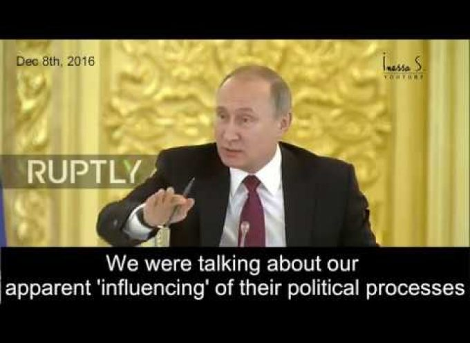 """Putin laughs at US intel – """"I read all of your instructions!"""""""