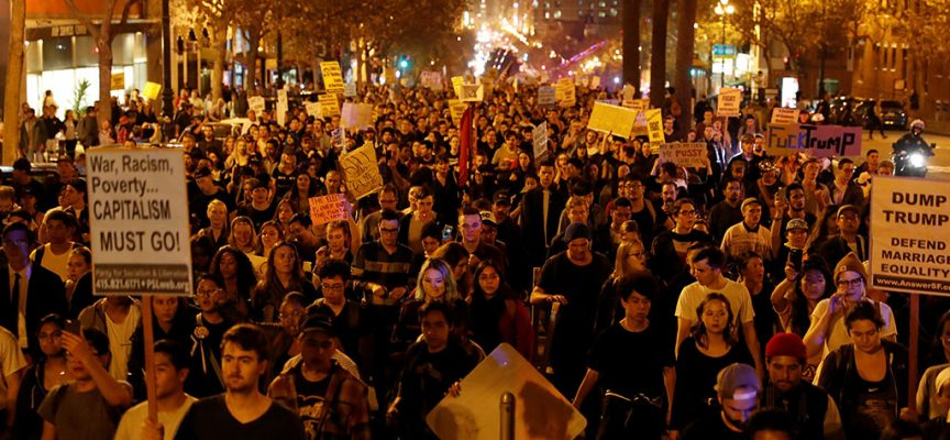 "A ""color revolution"" is under way in the United States"