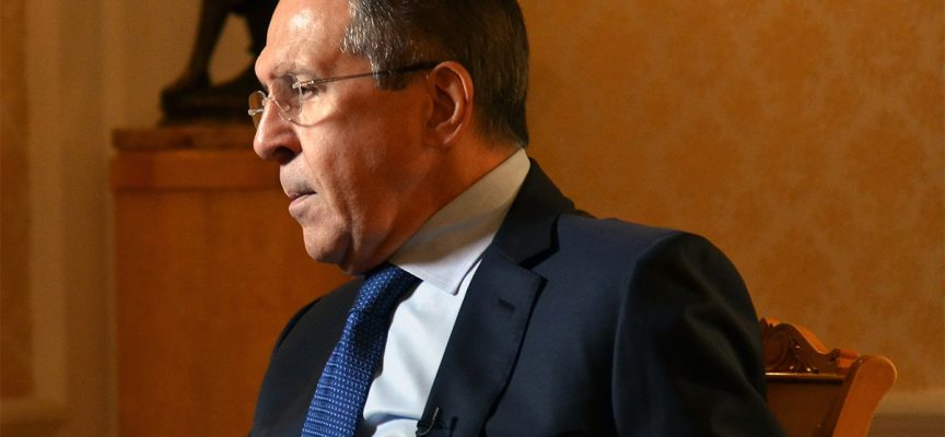 Russian Foreign Minister Sergey Lavrov's interview to the National Interest Magazine March 29, 2017