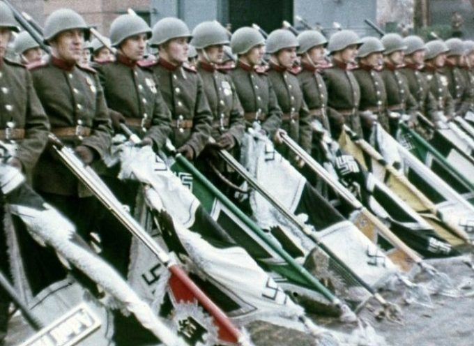 Who was defeated in the Great Patriotic war?