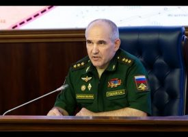Russian General Staff briefing on the situation in Syria (English subtitles)