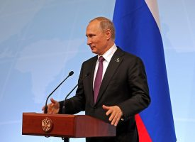 President Putin holds press conference at G20 in Hamburg