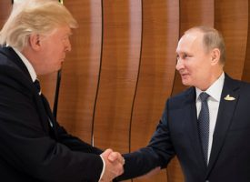 The first Putin-Trump meeting yields… …something very close to nothing
