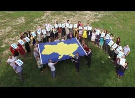 From the US Embassy in Kiev:  Happy Independence Day, Ukraine!