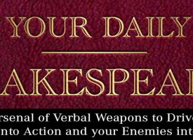 Cooperative – Your Daily Shakespeare – by Jimmy Moglia