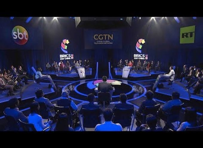 5-way (Brazil, Russia, India, South Africa, China) televised debate on BRICS (MUST SEE!)