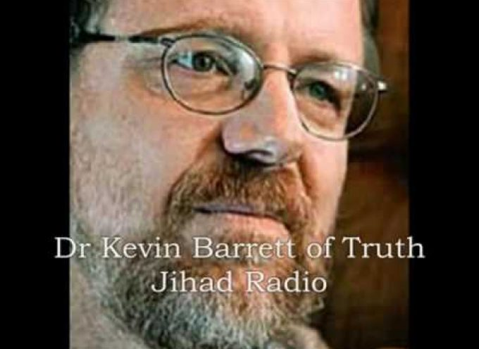 Kevin Barrett interviews the Saker for Truth Jihad Radio