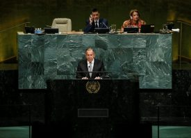 Statement by Foreign Minister Sergey Lavrov at the 72nd session of the UN General Assembly, New York, September 21, 2017