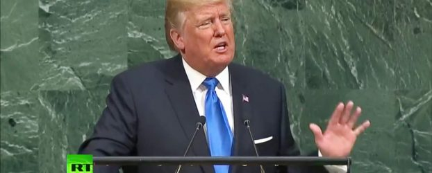 Listening to The Donald at the UN
