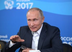President Putin meets with participants of 19th World Festival of Youth and Students