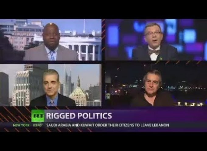 CrossTalk: Rigged politics (very good discussion on corrupt US party politics)