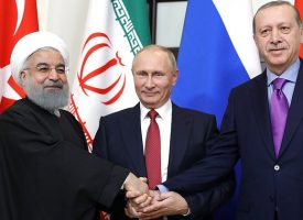 Joint statement by Presidents of Iran, Russia and Turkey