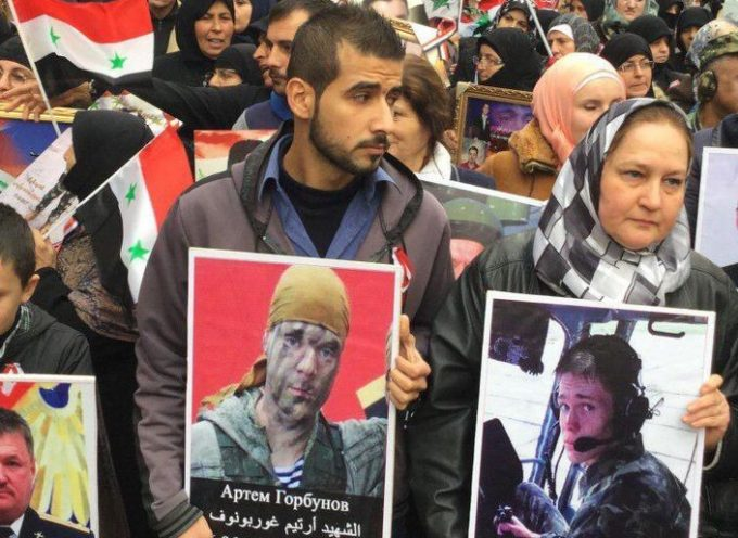 Saker Man of the Year 2017: all those who gave their lives for Syria