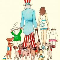 The AngloZionist family goes on a stroll