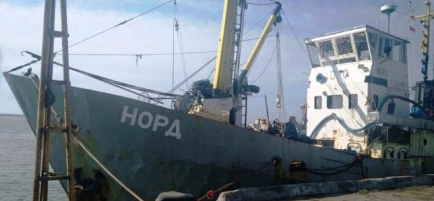 Ukraine's state piracy and the Sea of Azov development