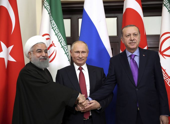 Iran, Turkey, Russia issue joint statement on Syria