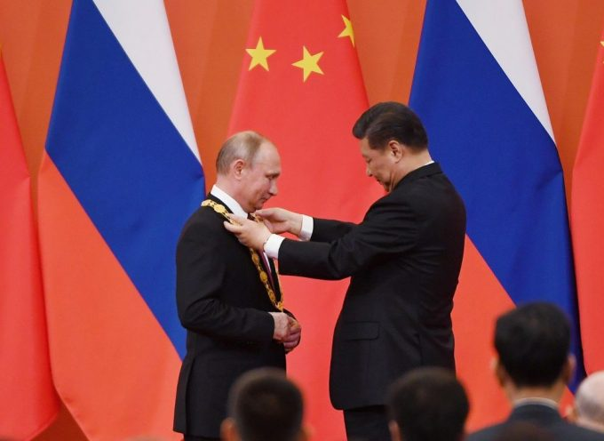 Russians are much admired and Putin is loved by the Chinese, for good reasons