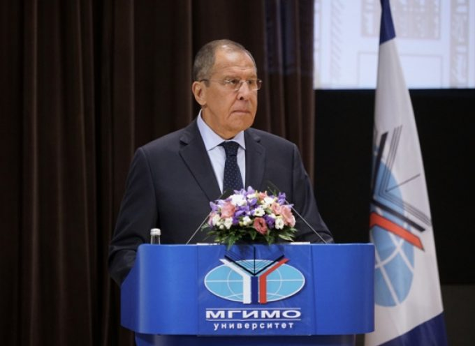 Sergey Lavrov's speech and A&Q  for students and faculty of MGIMO