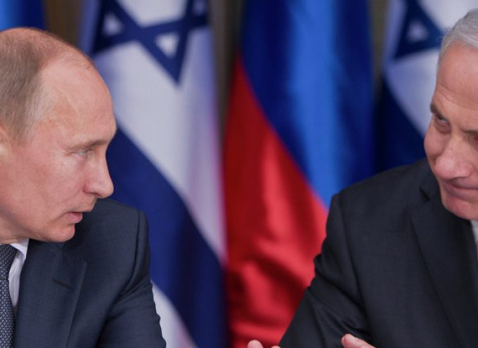 Putin, Israel and the downed Il-20 (IMPORTANT UPDATE)