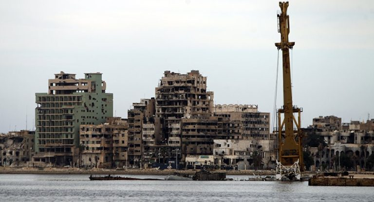 "Benghazi, Libya. An example of democratic progress and stability in North Africa courtesy of U.S. led ""humanitarian intervention."""