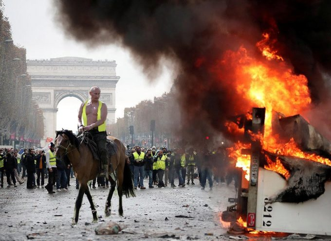 Evidence that Putin organized the Paris riots