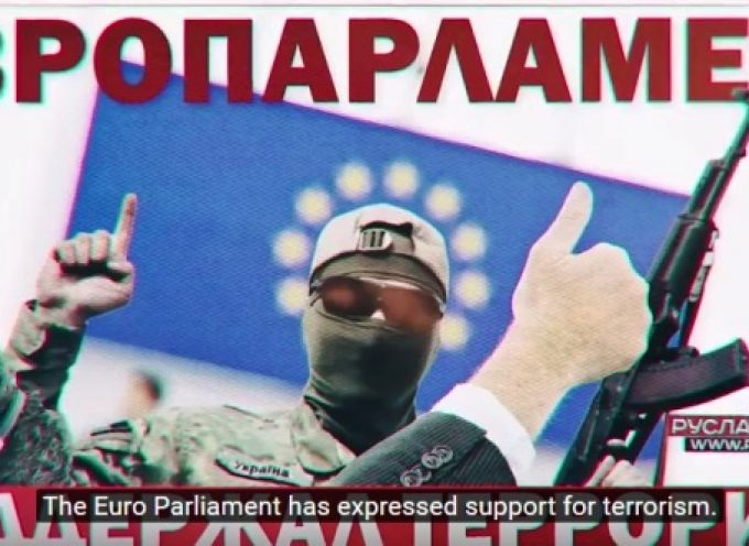 The Euro Parliament has expressed support for terrorism, by Ruslan Ostashko