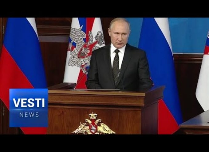 Putin Puts Forward Action Plan: Russia Will Counter Washington's Withdrawal From INF Treaty