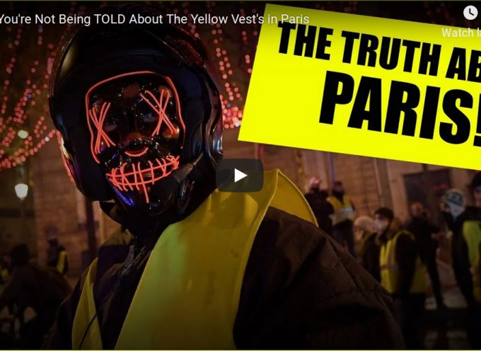 What You're Not Being Told About The Yellow Vest's in Paris