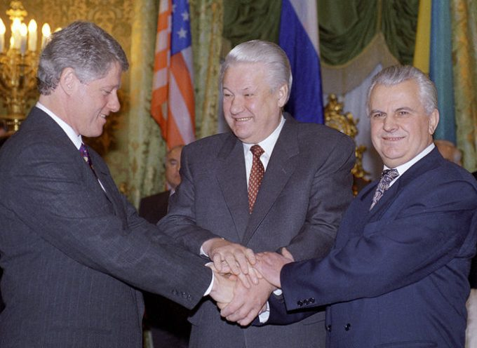 25 Years Ago an Agreement on the Elimination of Nuclear Weapons in Ukraine Was Signed