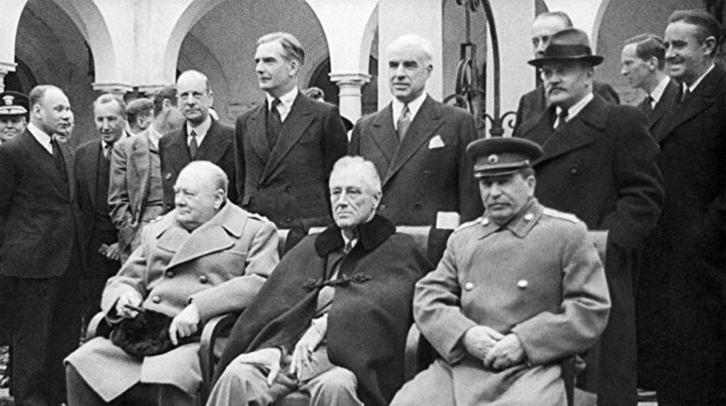 The 1945 Yalta Conference The Last Formal Partition Of The World