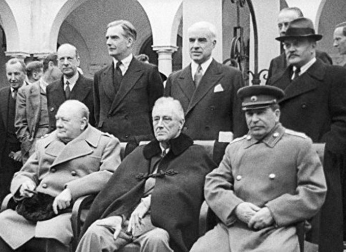 The 1945 Yalta Conference – the Last Formal Partition of the World