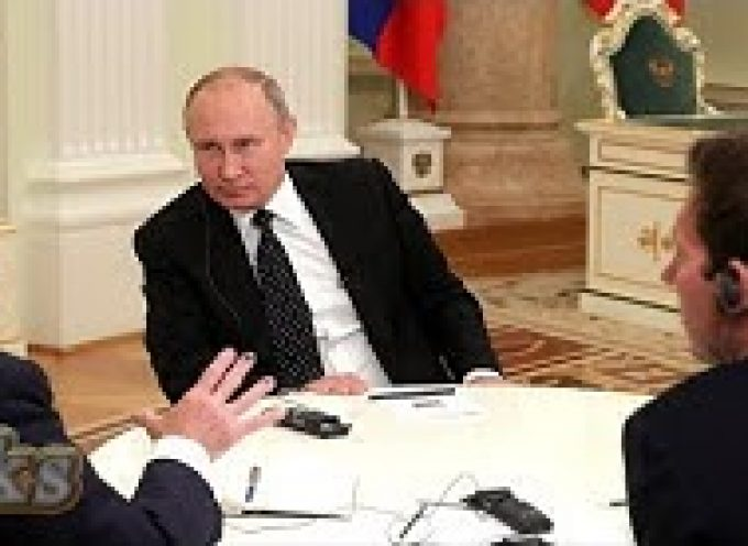 The Financial Times's Interview with President Putin