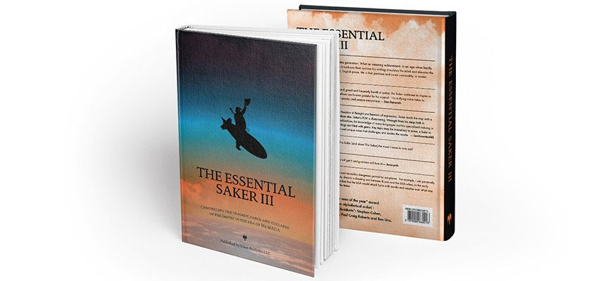 "Announcing the publishing of ""The Essential Saker III"""