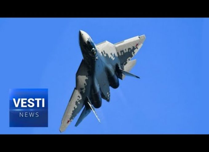 UNBELIEVABLE! Su-57 Aircraft Pulls Off Impossible Flat Corkscrew Mid-Air!