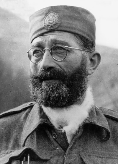One of the greatest Serbian heroes of all times: Chetnik General Draza Mihailovich (1943)