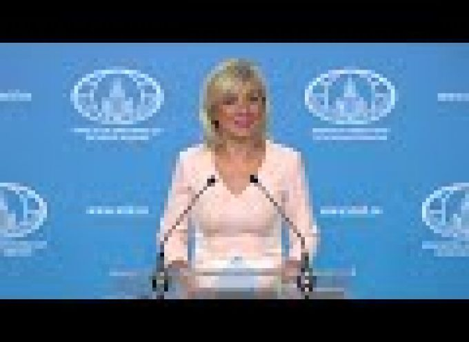Zakharova scolds Poles as global bigots