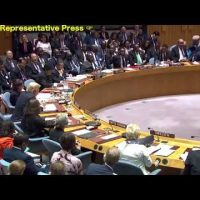 Listen to Morales at the UN and see why he was overthrown by the Empire