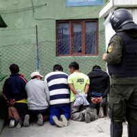 Democracy is restored to Bolivia (one image)
