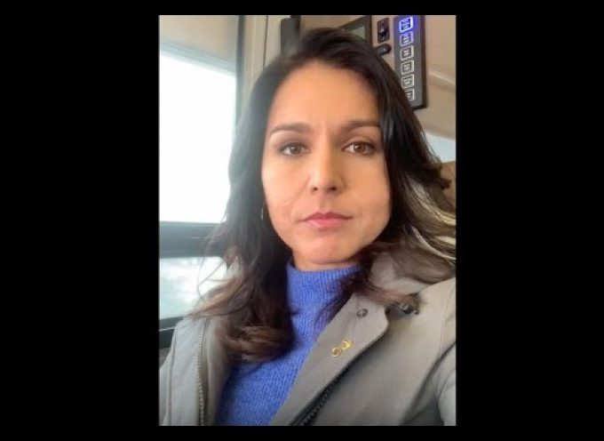 "Tulsi Gabbard: ""We must demand with one voice – bring our troops home from Iraq & Syria NOW"""