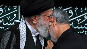 A spiritual father kisses his beloved son