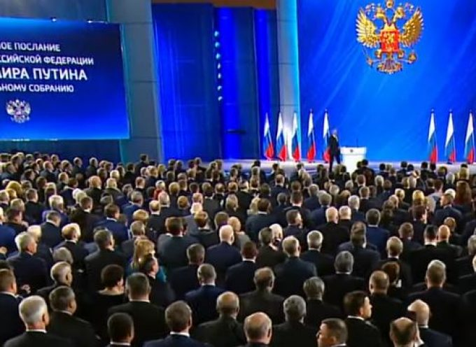 Putin makes annual State of the Nation address to the Federal Assembly