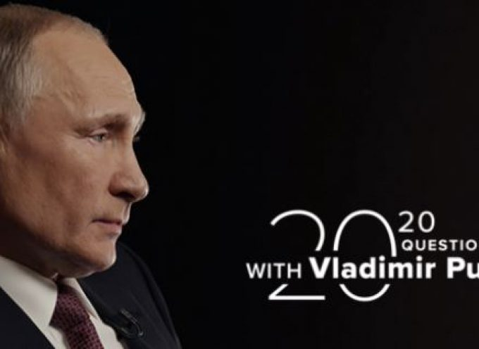 20 Questions with Vladimir Putin : Episode 2. Putin on Ukraine