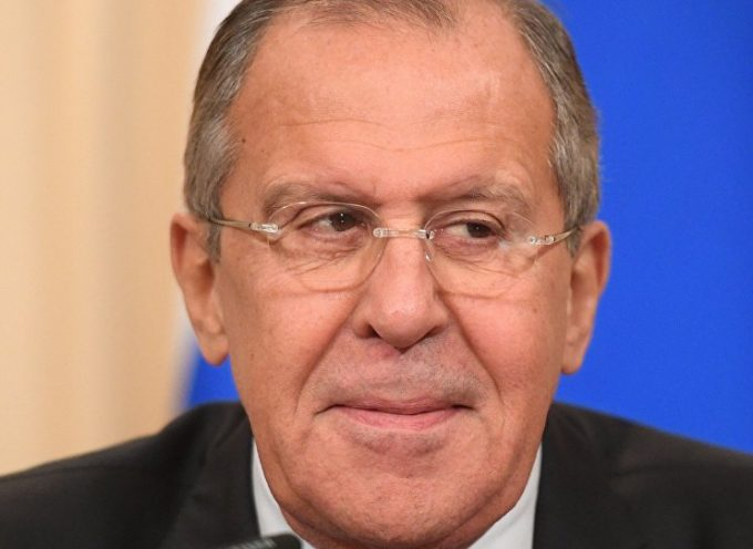 Mr Lavrov grabs the imperial tiger by the tail and announces his main task