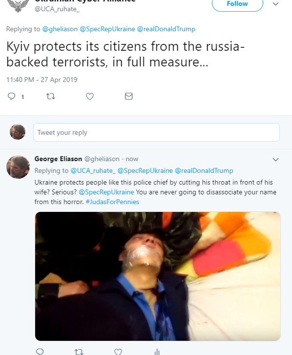 C:\Users\GH\Desktop\spy for hire\CYBER TERROR PART 6 REAL TERRORISM\photos used\threat\RUH8 PROTECTING PEOPLE PRAVY SEKTOR CUTS-twitter.com-2019.04.28-01-33-28.png