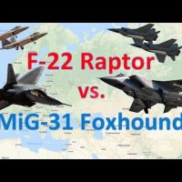 An interesting comparison of the US F-22 and the Russian MiG-31BSM