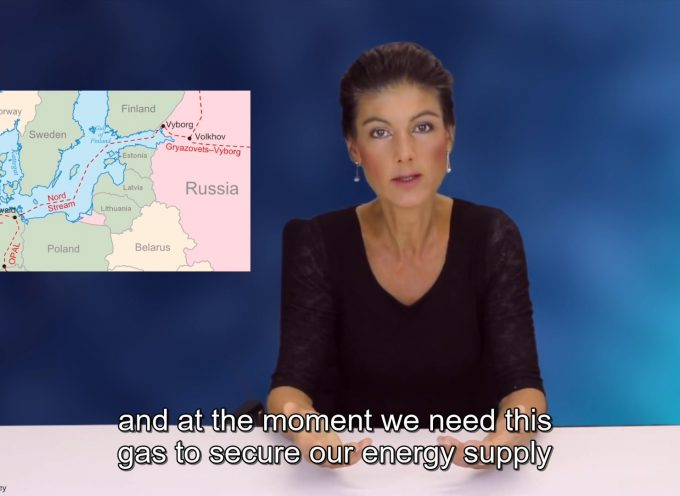 USA – Most Aggressive Military Power in the World. Those Who Have Friends Like That Don't Need Enemies (Sahra Wagenknecht)