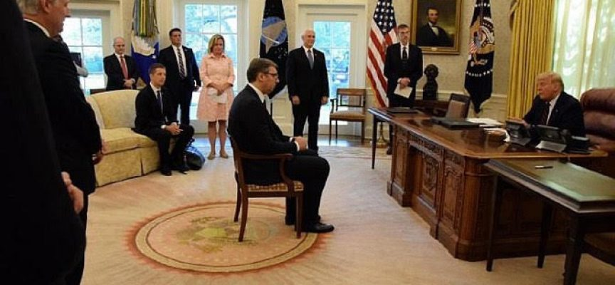 White House Kosovo meeting: crossing the Atlantic, for this?
