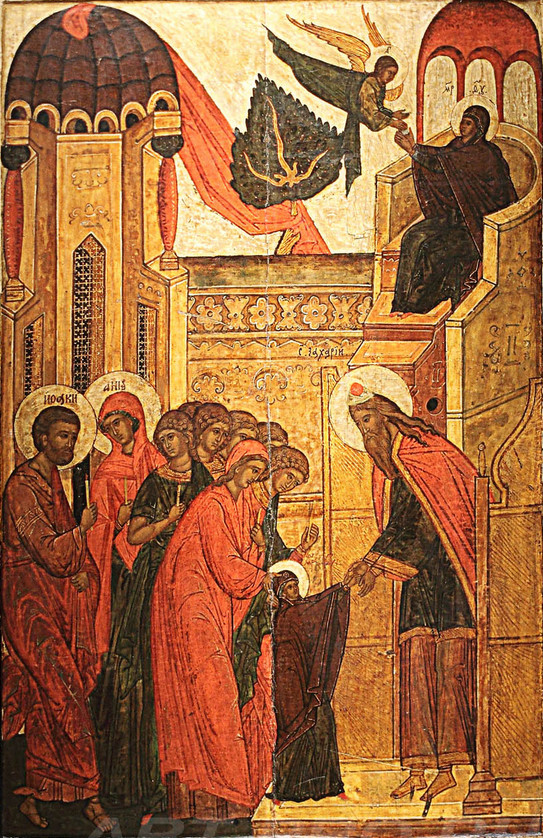 Entrance of the Theotokos into the Temple Dec 4th