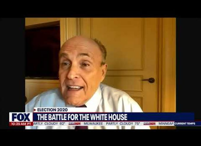 Important interview of Rudi Giuliani